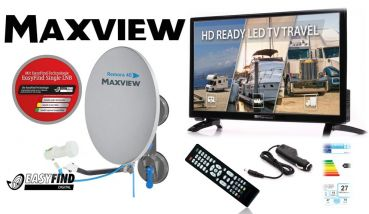 ESP Travel Kit Maxview Remora 40 Easy Find + Opticum LCD TV 24""
