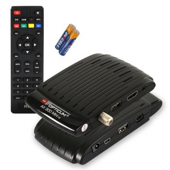 Opticum ax 300 Mini (V3) PVR Ready Full HD Sat Receiver