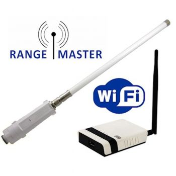 Falcon RangeMaster RM-WKR Long Range WiFi-Antenne und Router