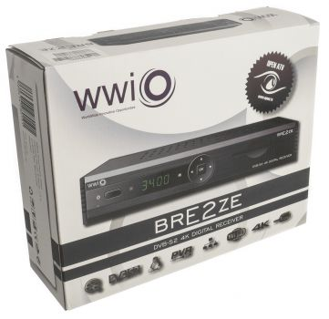 WWIO BRE2ZE 4K Digitaler Sat-Receiver HD-TV,4K,Enigma2,PVR,LAN