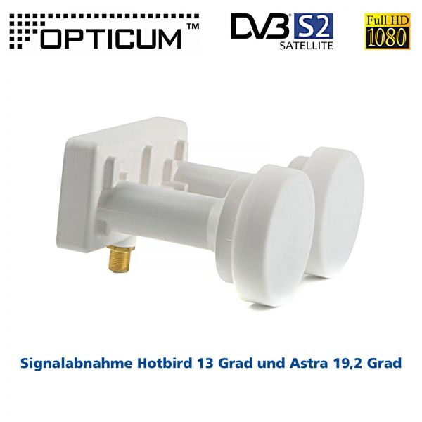 Opticum Monoblock Single LNB LMP-04H Astra-Hotbird