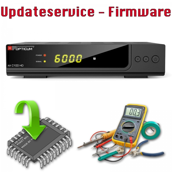 Updateservice - Opticum AX C100 HD ohne PVR