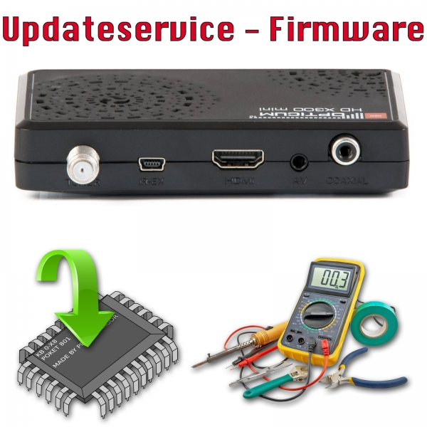 Updateservice - Opticum HD X300 mini DVB-S2 ohne PVR