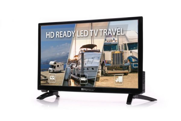 Opticum Travel TV Camping Set EasyFind 24""