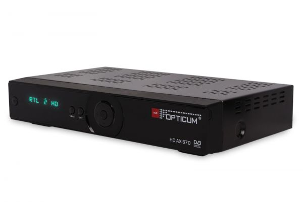 Opticum HD AX 670 ohne PVR