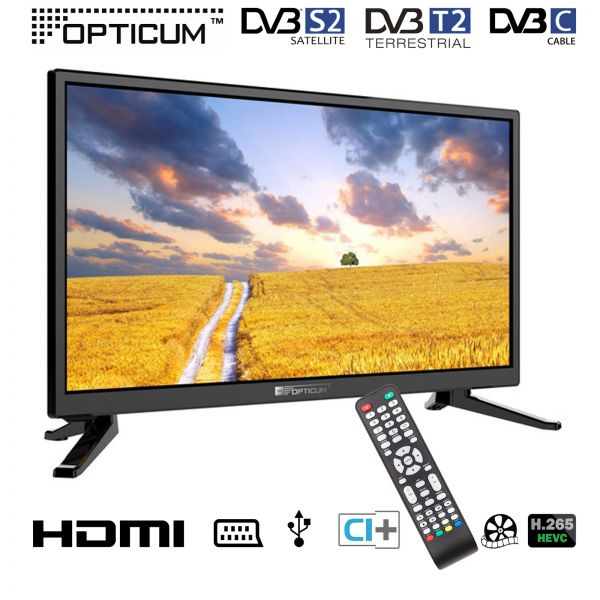"LCD TV 20"" Travel (12 / 24 Volt)"
