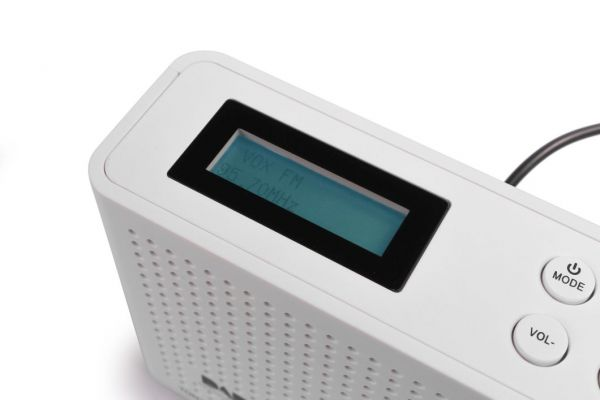 Opticum Red DAB+/FM Radio TON-3 weiß