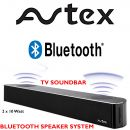 Avtex SB195BT 12V TV Bluetooth Soundbar Speaker Camping Caravan